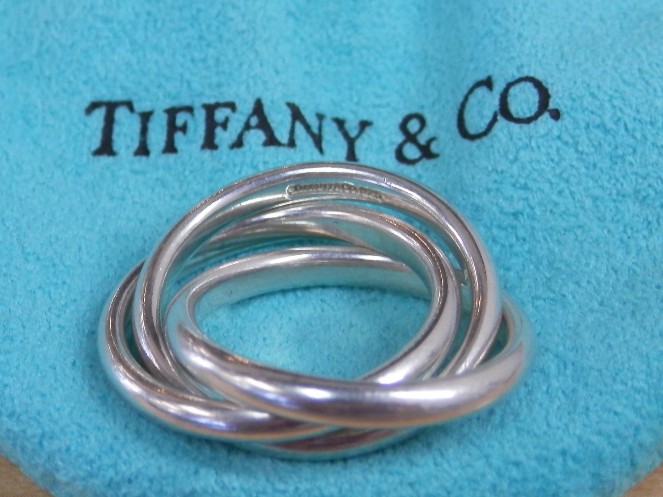 Regal Pawn Tiffany Amp Co Trinity Rolling Sterling Ring